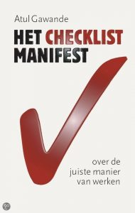 "cover van ""het checklist manifest"" - atul gawande"